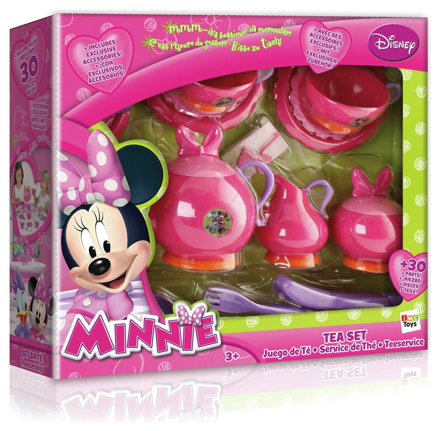 Minnie Mouse - Tea Set