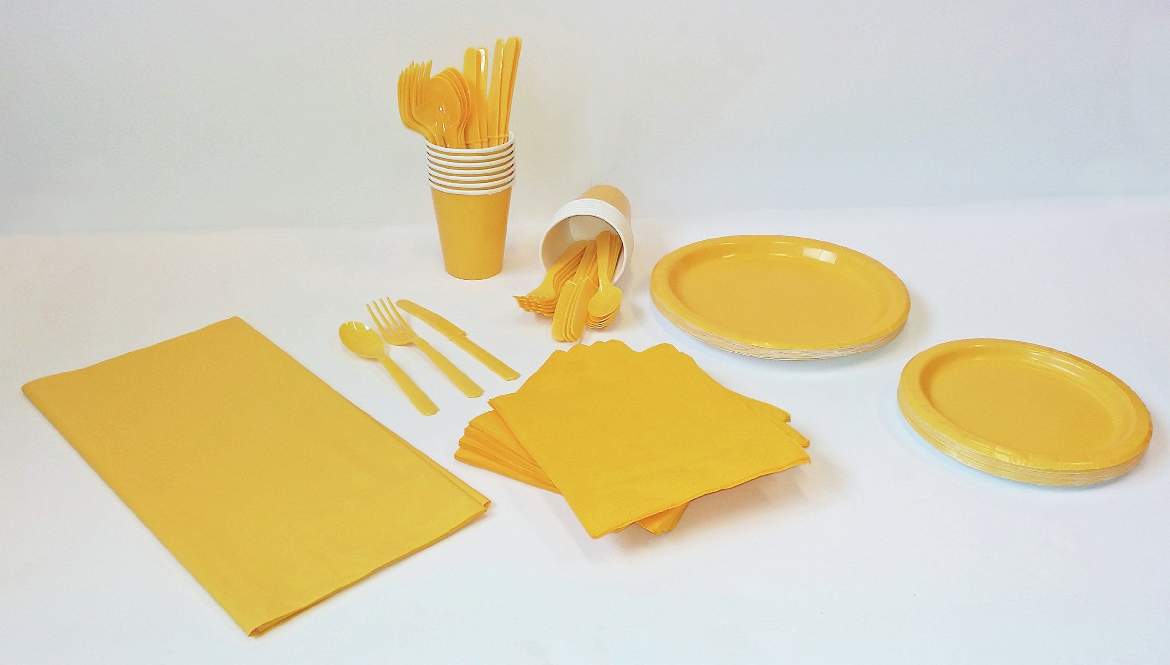 solid-colours-yellow-party-kit