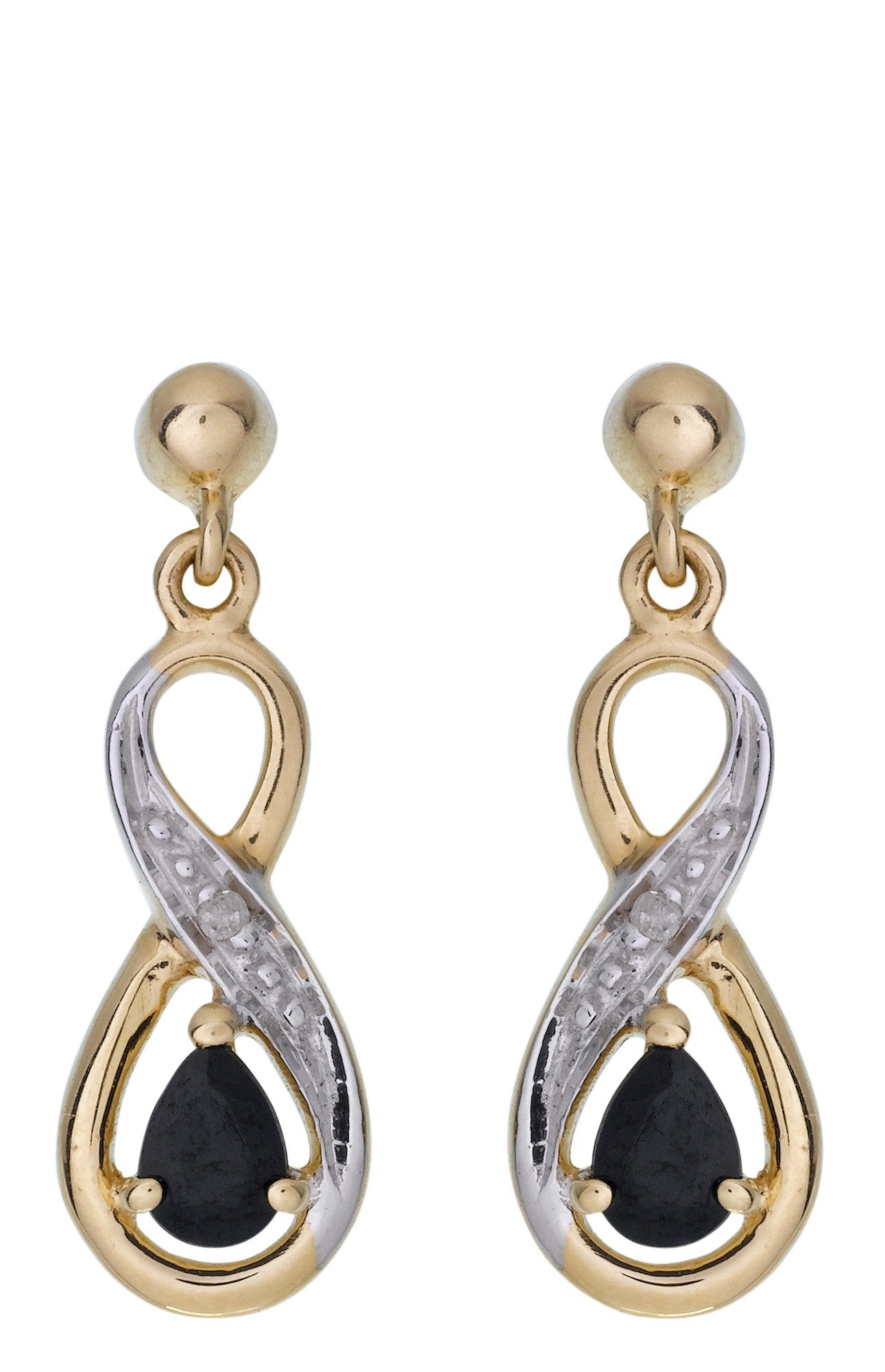 9-carat-gold-sapphire-diamond-accent-drop-earring