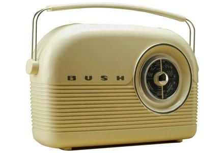 Bush Classic Retro DAB Radio - Classic Cream.