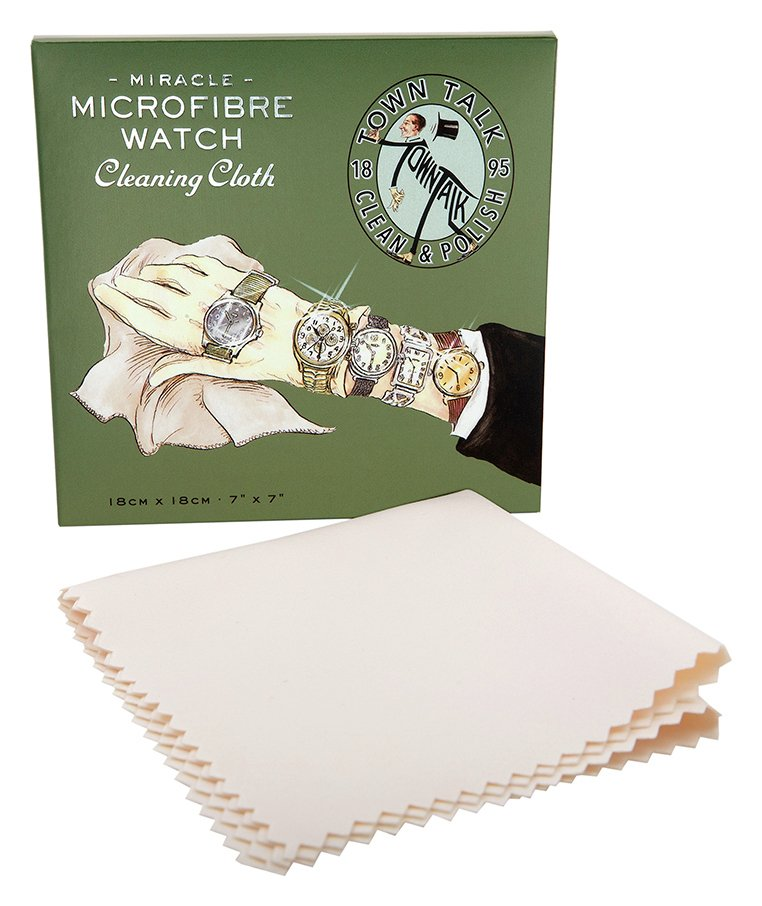 Miracle Microfibre Watch Cleaning Cloth