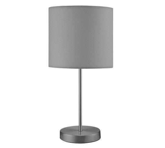 Buy Argos Home Satin Stick Table Lamp Flint Grey Table Lamps