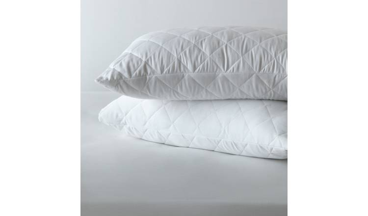 Argos Home Stain Resistant Pair of Pillow Protectors
