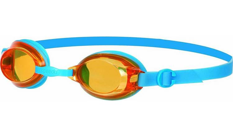 Speedo Jet Junior Swimming Goggles - Blue and Orange