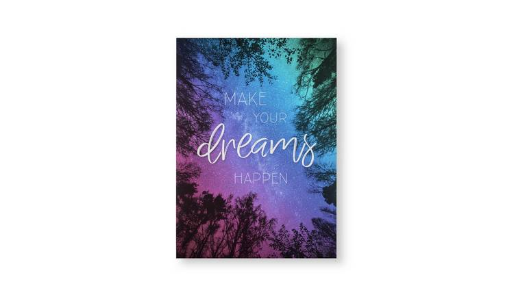 Art for the Home Midnight Dreams Printed Canvas Wall Art