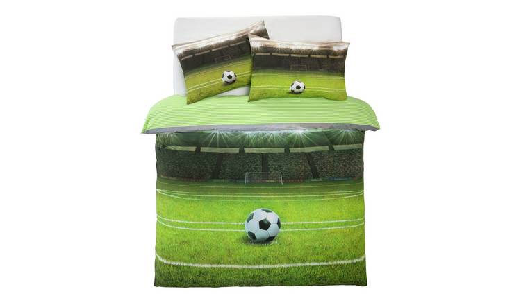 Argos Home Football Pitch Bedding Set - Double