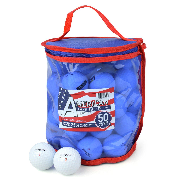 Titleist Premium Grade A Lake Golf Balls - 50 Pack