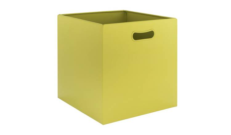 Argos Home Bathroom Storage Box - Lime