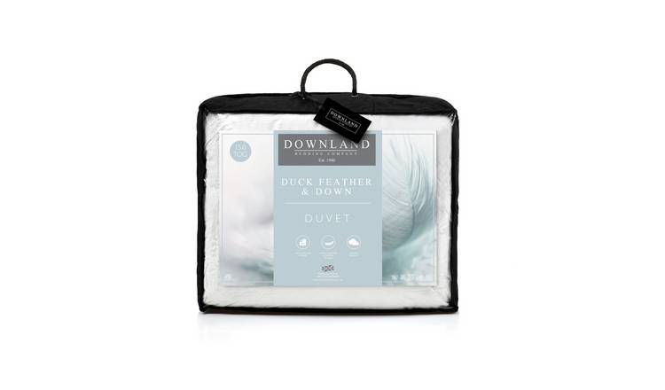 Downland 15 Tog Duck Feather and Down Duvet - Single