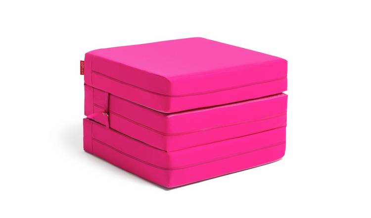 Argos Home Single Mattress Cube - Funky Fuchsia