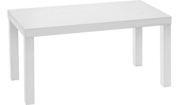 Argos Home Coffee Table - White