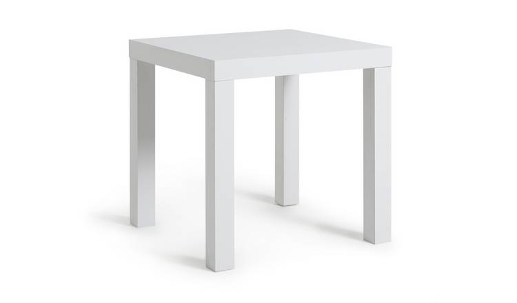 Habitat End Table - White