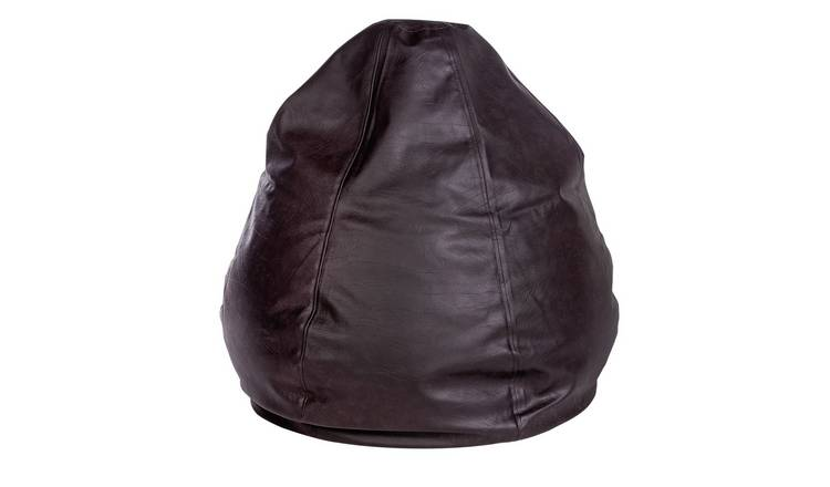 Argos Home New Pear Extra Large Bean Bag - Chocolate