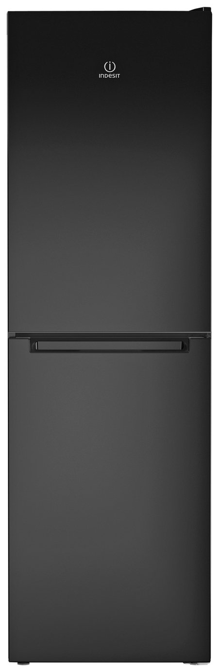 Indesit LD85 F1 K Freestanding Fridge Freezer - Black