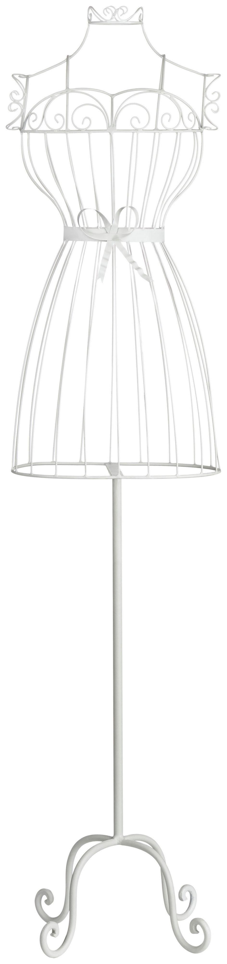 Premier Housewares Chic Annabelle Mannequin - White. lowest price