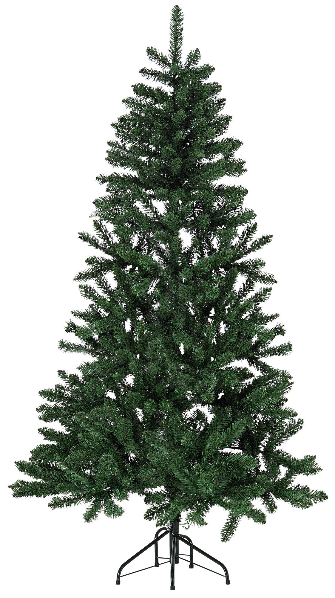 sale on 6ft flat backed christmas tree green argos. Black Bedroom Furniture Sets. Home Design Ideas