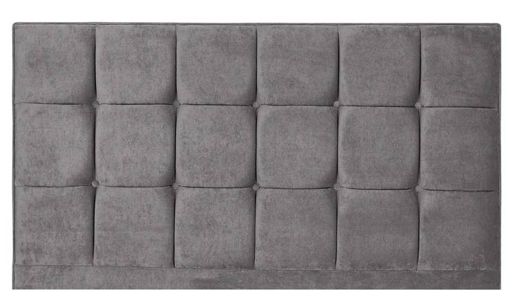Forty Winks Floor Stand Double Headboard - Seal Grey