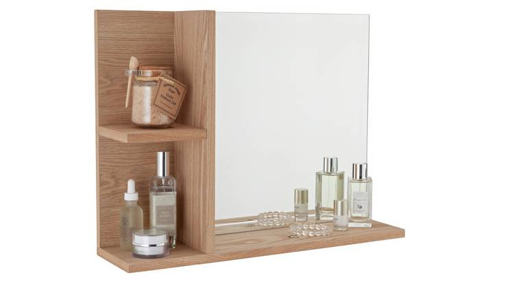 Argos Home Inhabit Wall Mirror with 2 Shelves