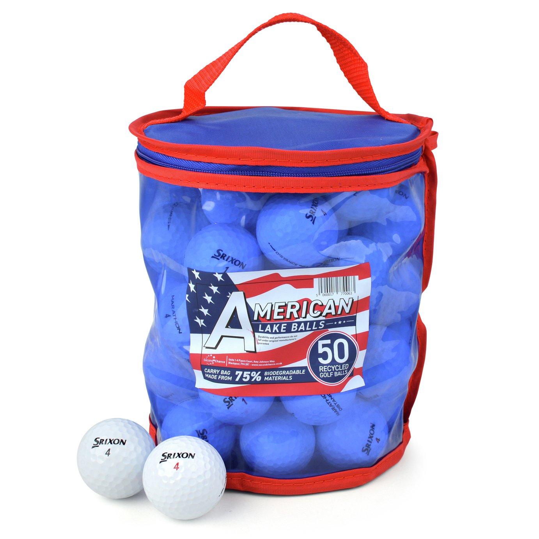 Srixon Premium Grade A Lake Golf Balls - 50 Pack