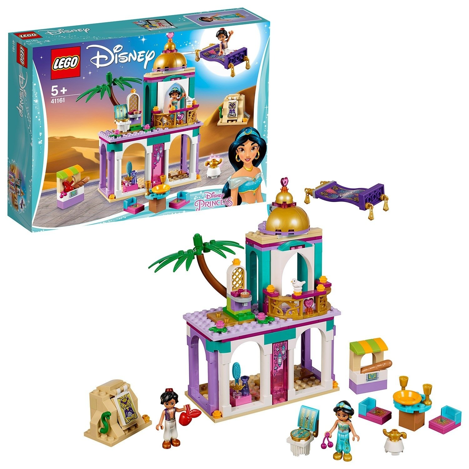 LEGO Disney Princess Aladdin and Jasmine Palace - 41161