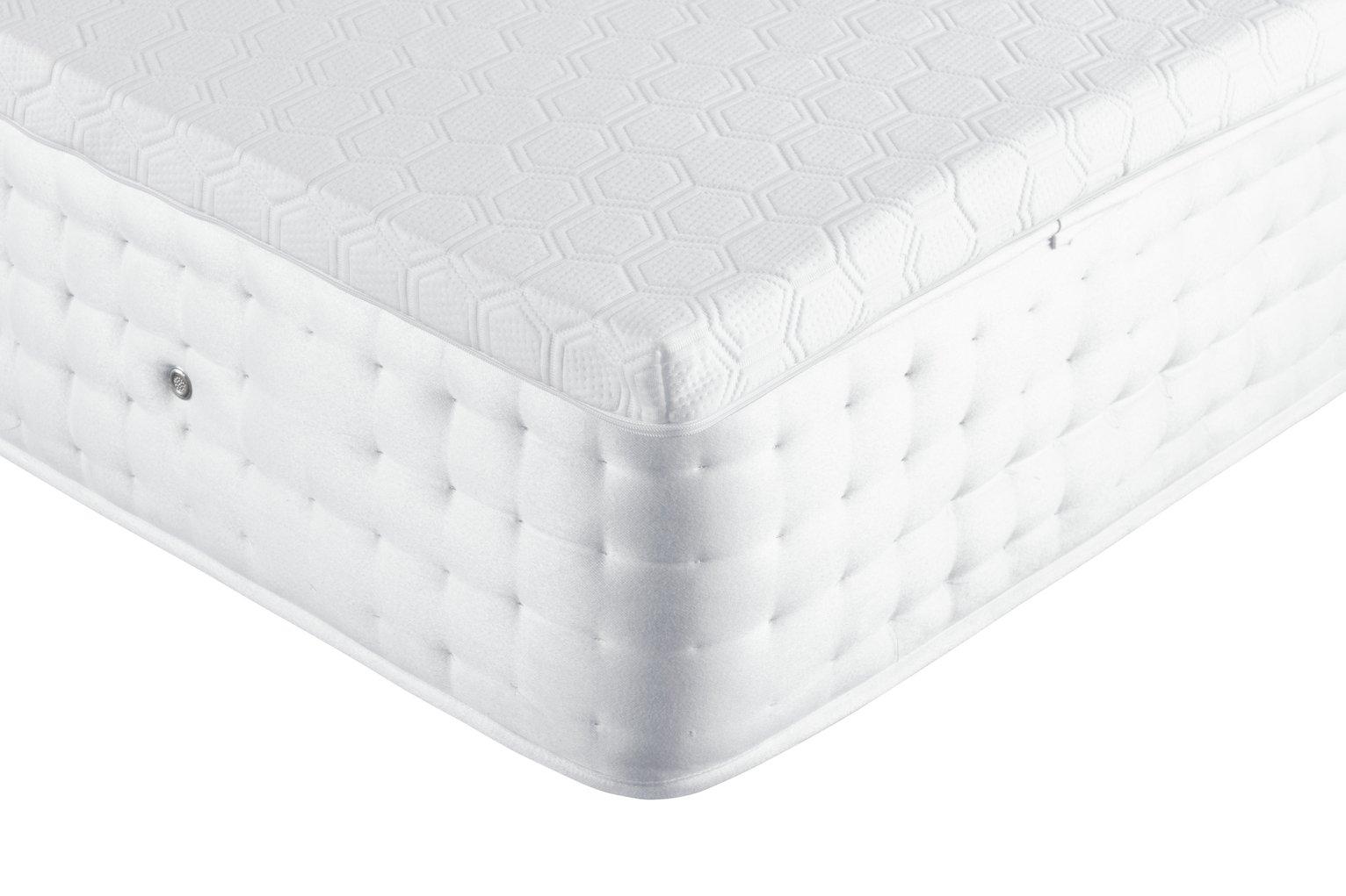 Argos Home Anti-Slip Memory Foam Mattress Topper - Superking