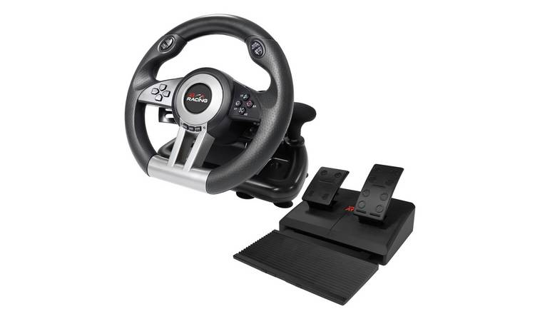 X Rocker XR Steering Wheel for Xbox One, PS4, Switch