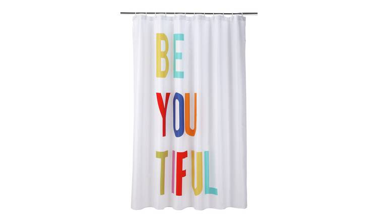 Argos Home Beautiful Shower Curtain