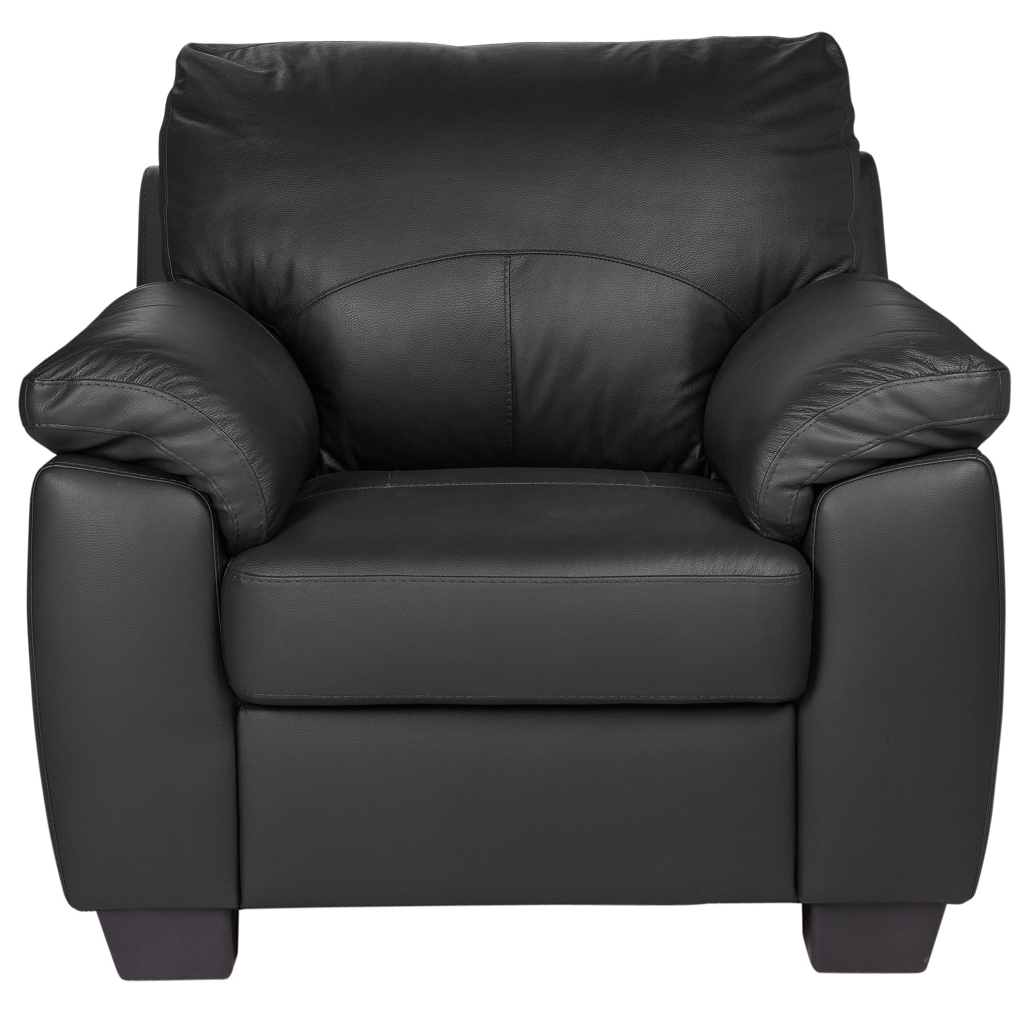 Sale On Argos Home New Logan Leather Chair Black