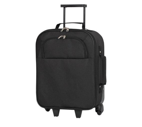 buy go explore small 2 wheel suitcase black at your online shop for cabin. Black Bedroom Furniture Sets. Home Design Ideas