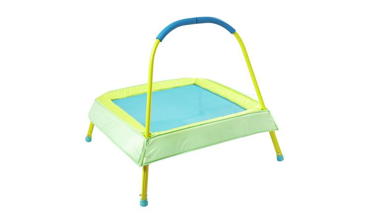 Chad Valley 3ft Indoor Kids Trampoline - Green