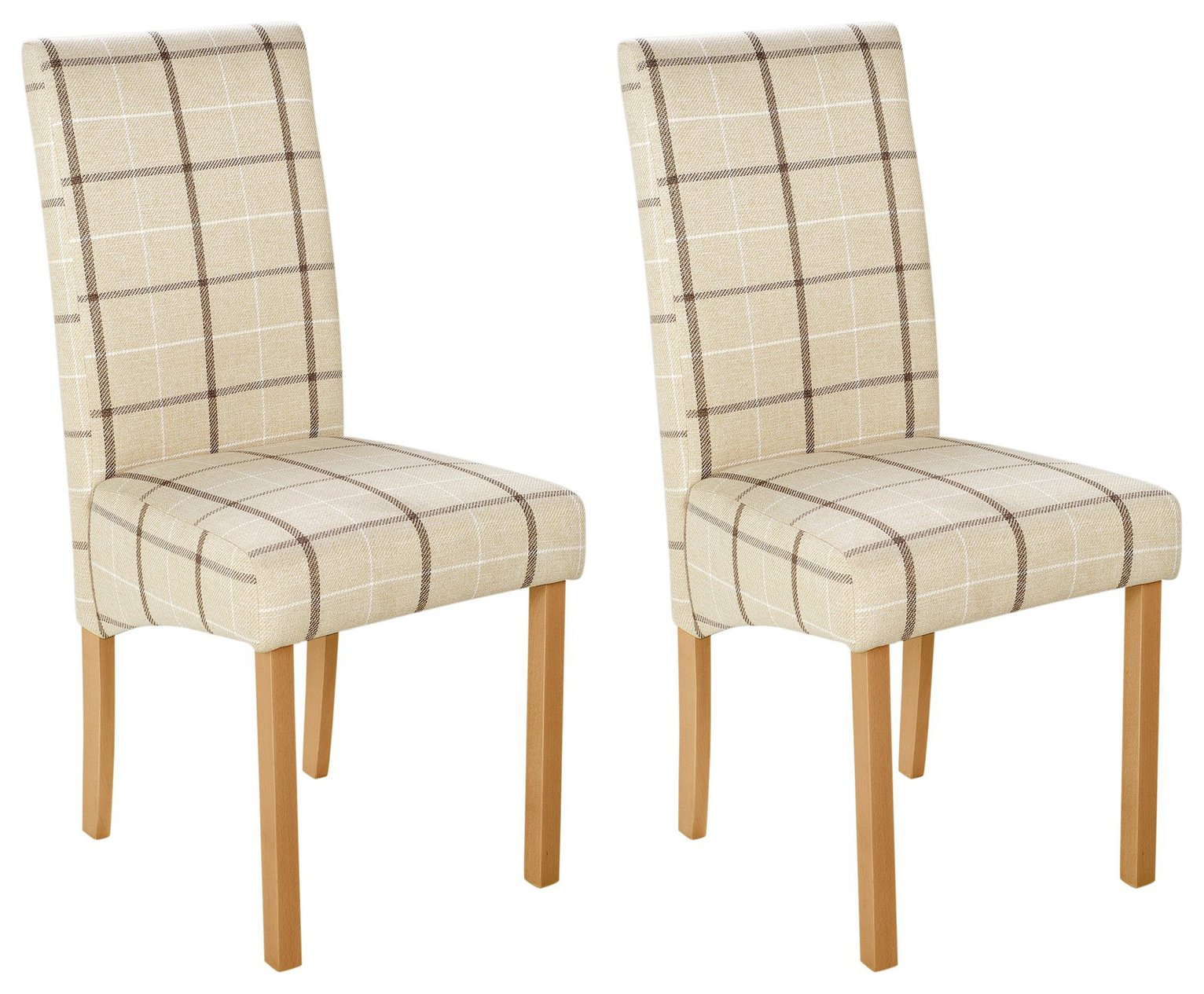 Argos Home Pair of Fabric Skirted Chairs review