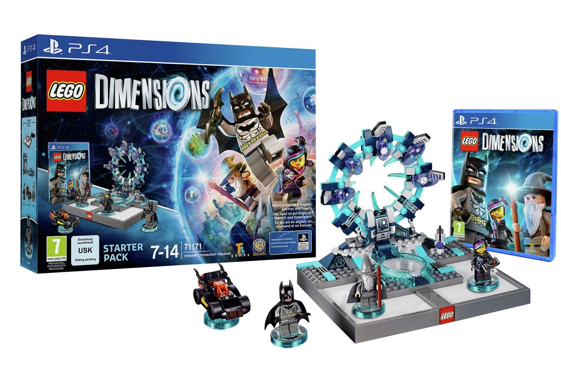LEGO - Dimensions Starter Pack - Playstation 4.