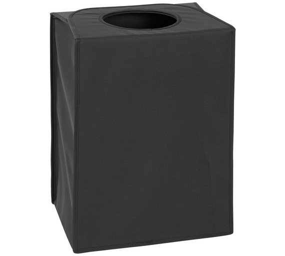 buy brabantia 55 litre rectangular laundry bag black at argoscouk your online shop for linen baskets and laundry bins bathroom accessories