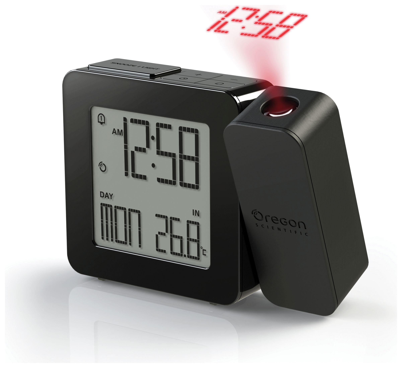Oregon Projection Temperature Alarm Clock