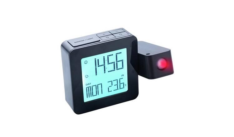 Buy Oregon Projection Temperature Alarm Clock Clocks Argos
