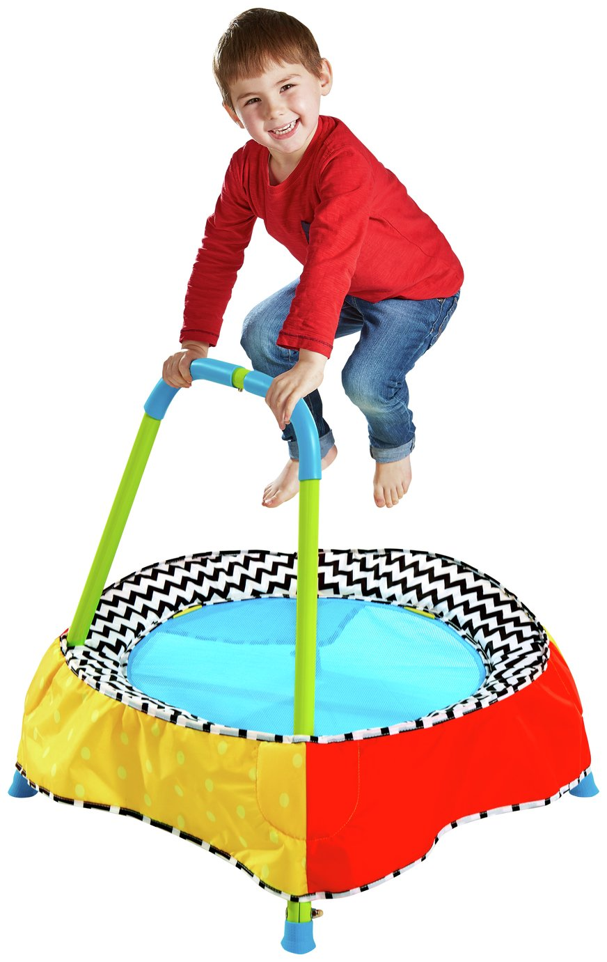 FAST /& FREE Details about  /Chad Valley Indoor//Outdoor Kid/'s Toddler Trampoline