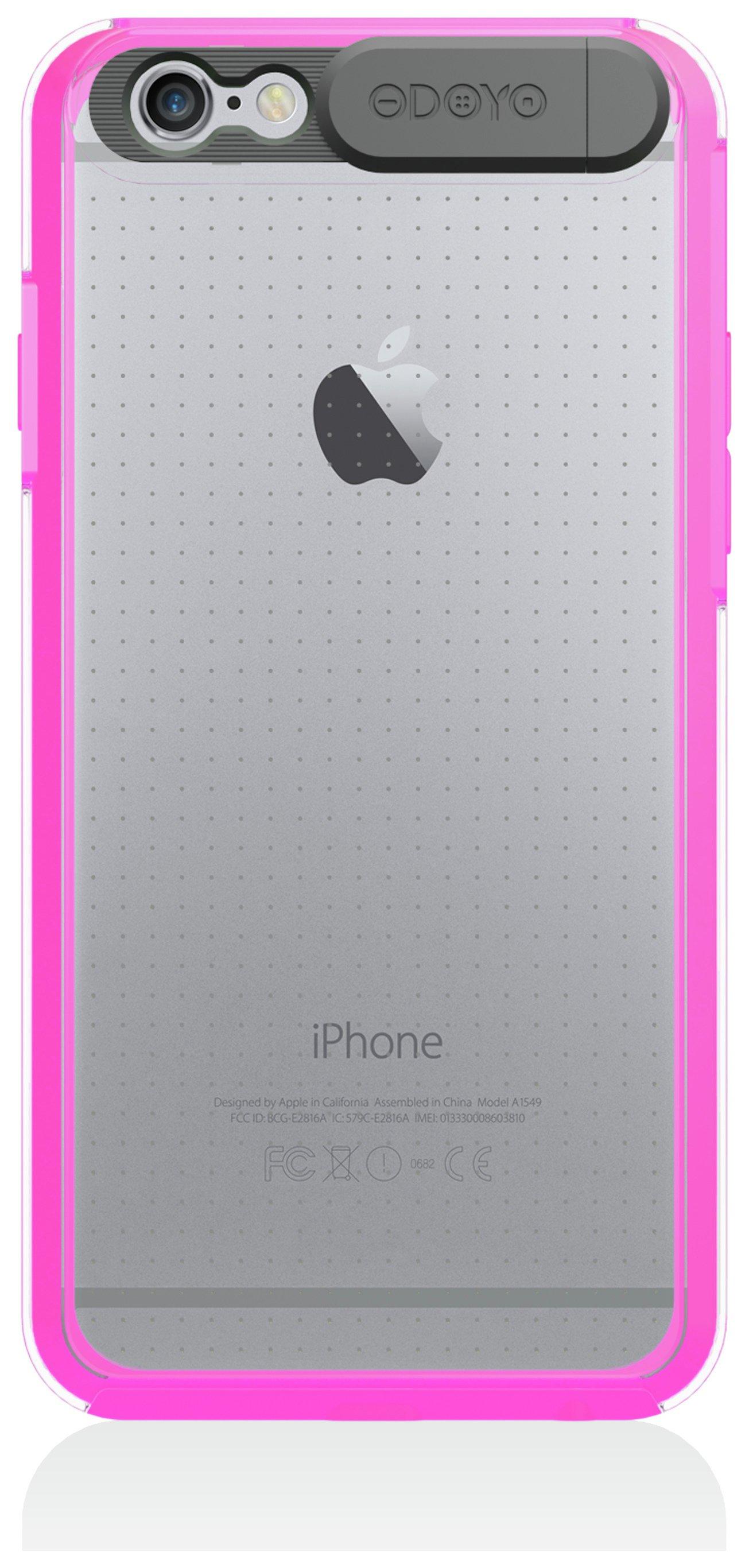 Odoyo Odoyo Flashing Case for iPhone 6 - Neon Pink