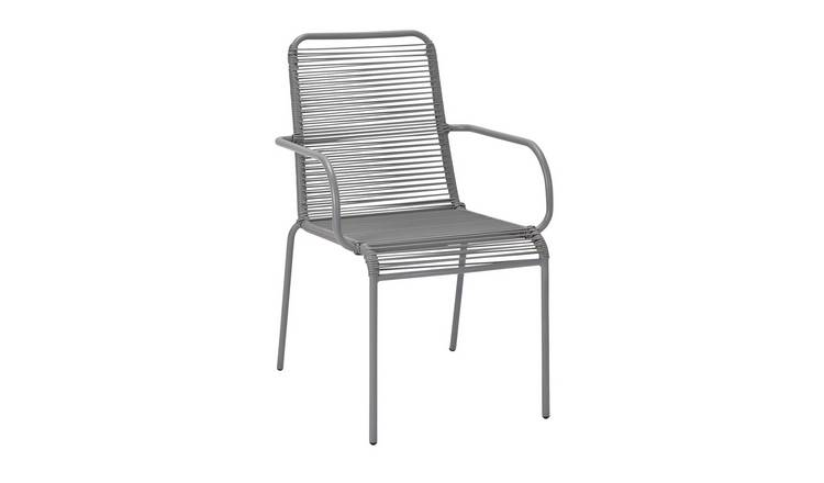Argos Home Ipanema Garden Chair - Grey