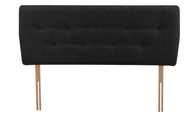 Argos Home Skandi Kingsize Headboard - Charcoal