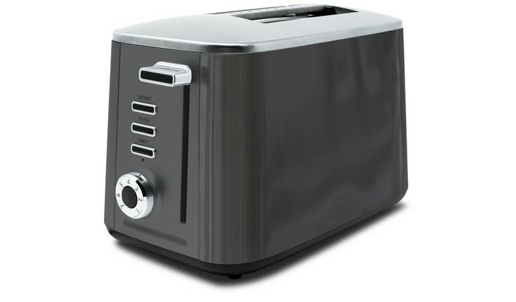Drew & Cole Rapid 2 Slice Toaster - Charcoal
