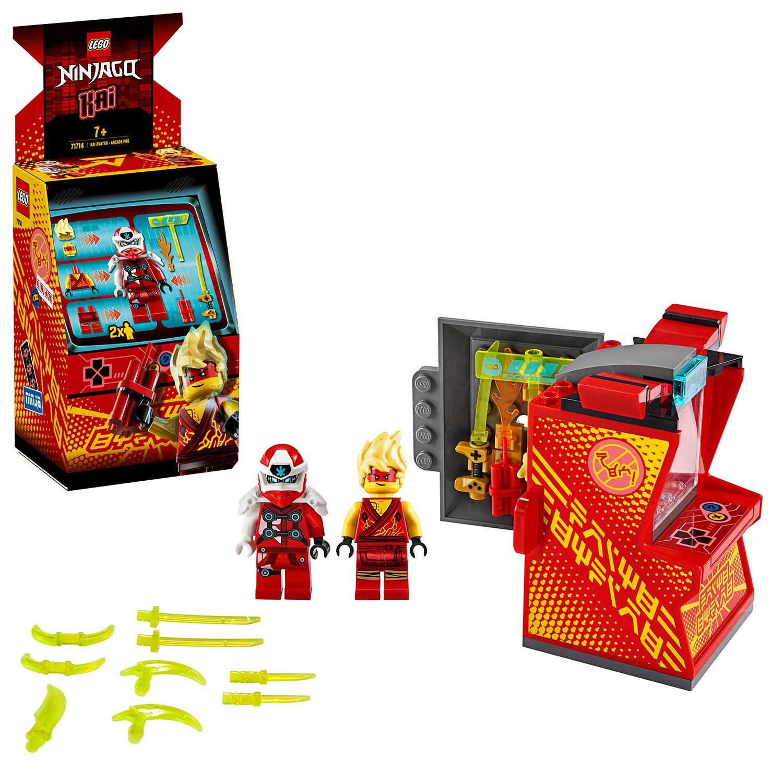 Buy Lego Ninjago Kai Avatar Arcade Pod 71714 Lego Argos