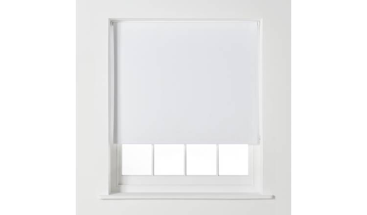 Argos Home Blackout Roller Blind - 3ft - Super White