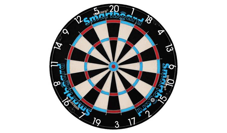Unicorn App Enabled Electronic Dartboard and 2 Sets of Darts