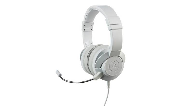 PowerA Xbox, PS4, Switch, PC FUSION Wired Headset - White