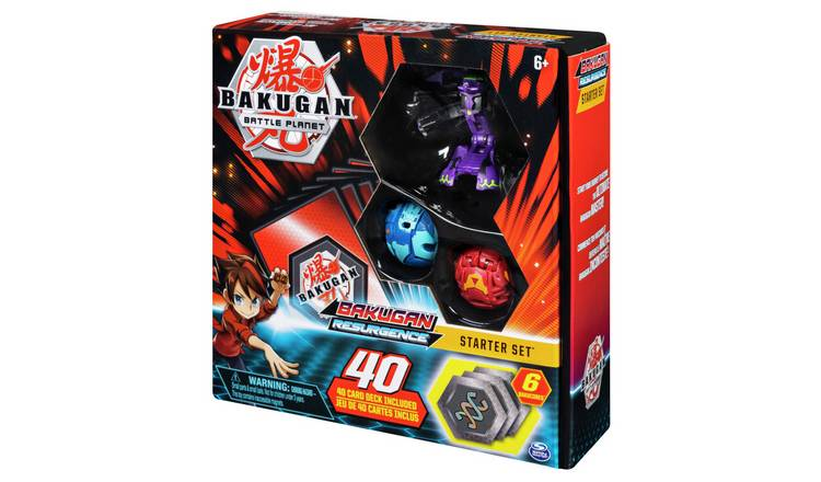 BAKUGAN Card Game Starter Pack