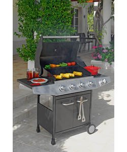 Barbecues, tools, covers and fuel