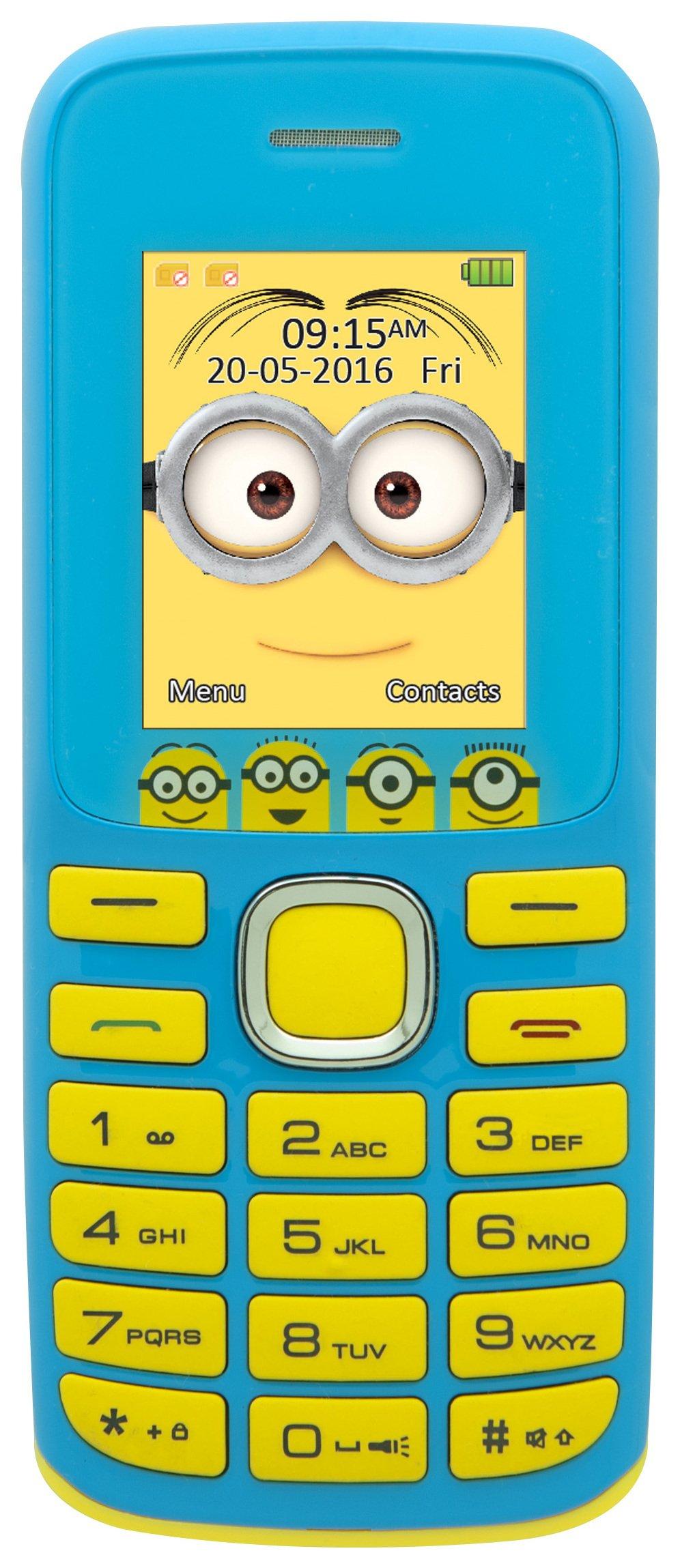 Lexibook Sim Free Minions Feature Phone.
