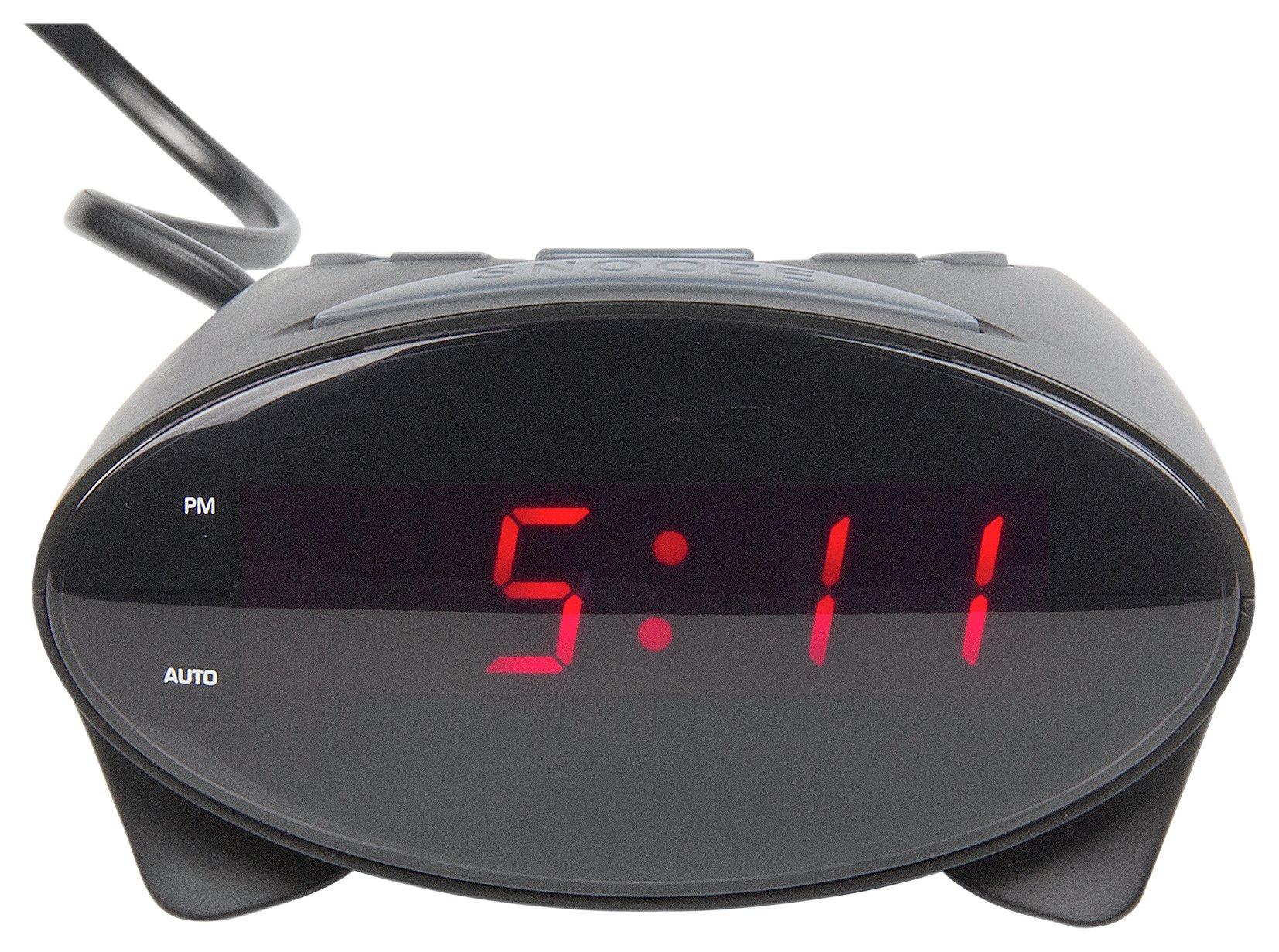 Image of Constant Black Elliptical Alarm Clock