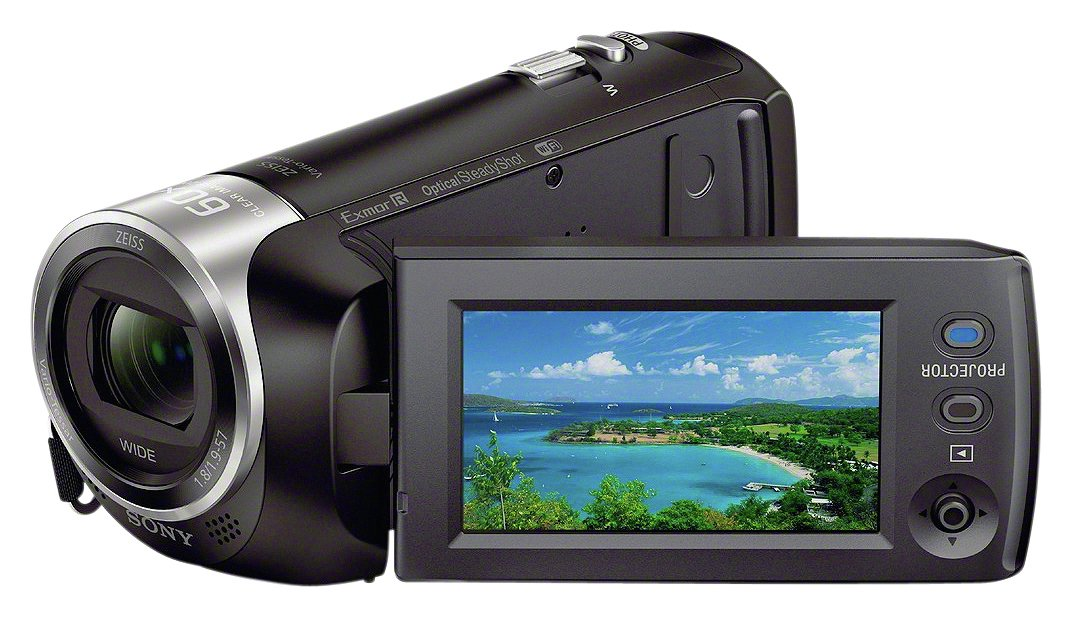 Image of Sony - HDRPJ410 Full HD Camcorder - Black