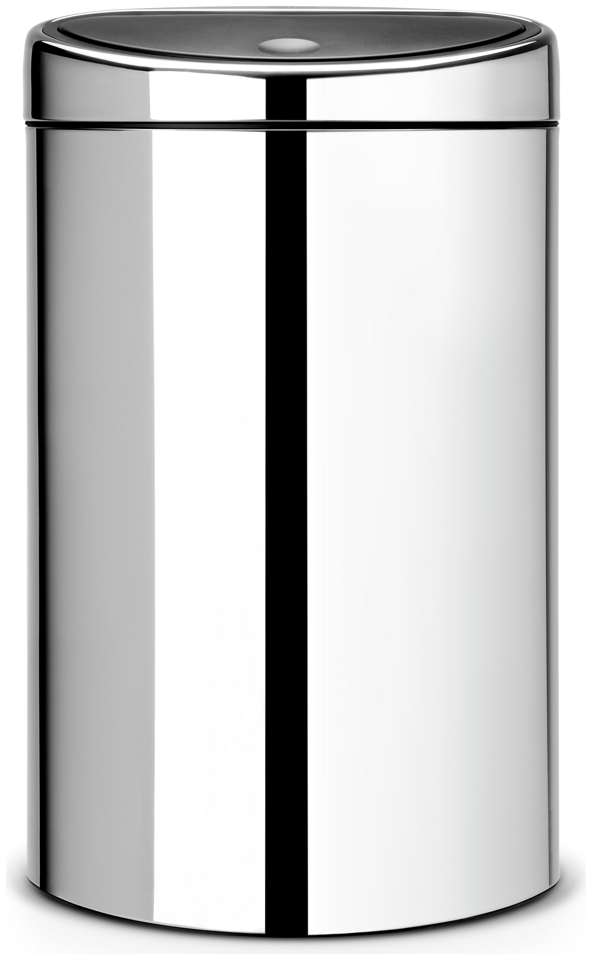 Image of Brabantia - 10/23L Twin Bin - Brilliant Steel